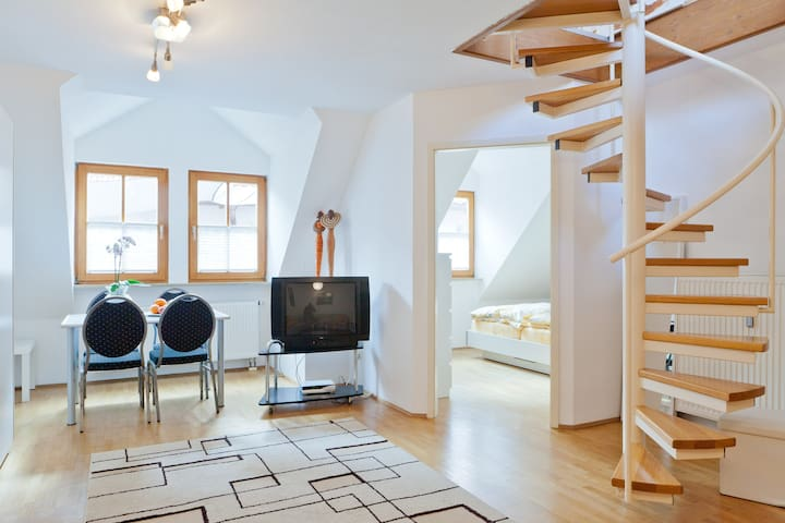 #1spacious apartement by Nuremberg - Schwaig - Byt
