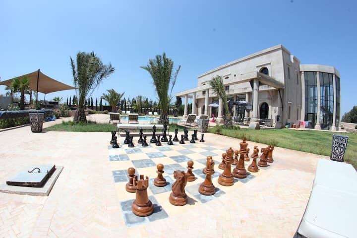 Le Palais Namafé, vrai petit paradis à Essaouira