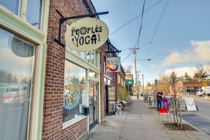 The People's Yoga (offering drop-in classes).
