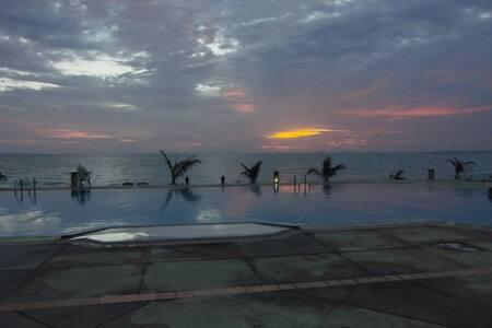 Bay View Resort-studio, Bang Lamung
