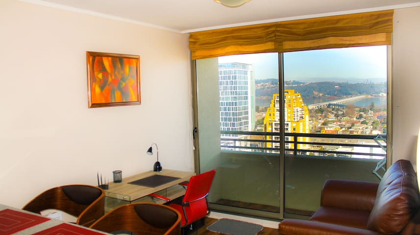 Central apartment, great river view - Concepcion - Wohnung