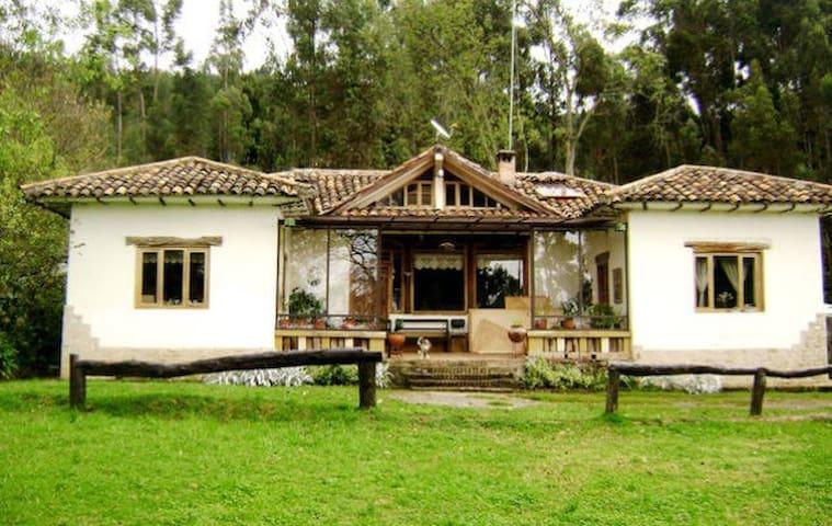 Habitaciones en la naturaleza - Cuenca  - Casa
