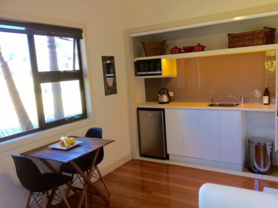 Kitchenette in the sitting room