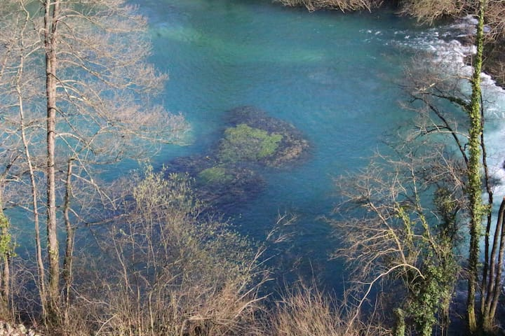 ...River Slunjčica...butterfly island...
