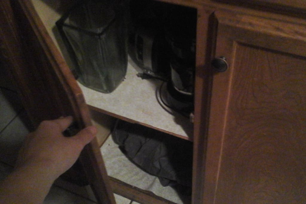 Another storage cabinet.