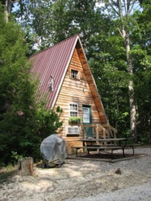 Wagon wheel cabins for rent in slade kentucky united for Kentucky cabins rentals