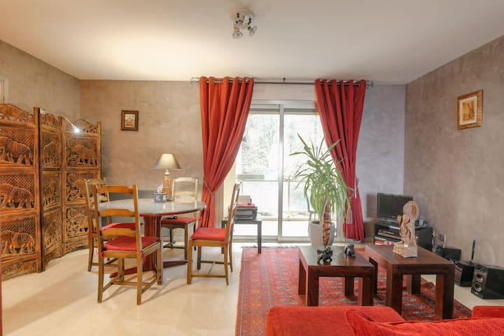 Superb apartment in the bank of Saone
