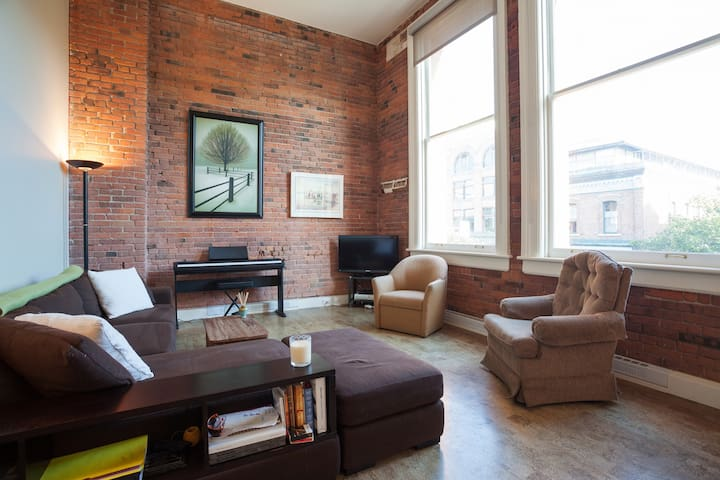 Downtown Loft-the best location! - Victoria - Loft