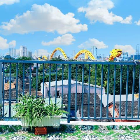 Sena home 4th*Sân Thượng View Cầu Rồng-Sông Hàn ĐN