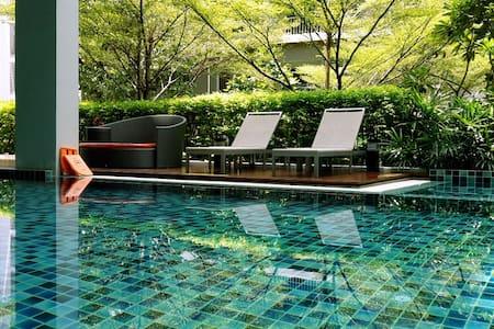 Sukhumvit BTS Punawithi : Nice & Cozy 1BR! - Bangkok