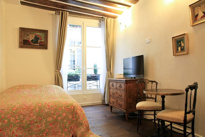 Romantic studio in center of Paris