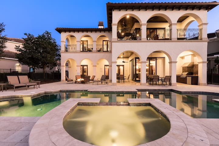 Clean & Luxurious 5 Bedroom Reunion Resort Home With Golf Views Palmilla Ct