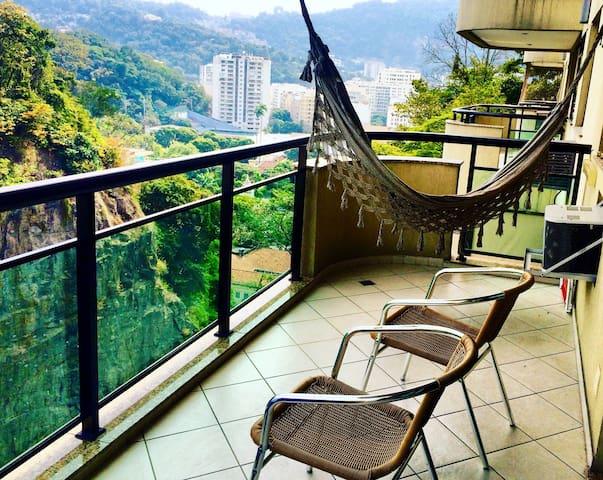 Cool and Comfy 2 bedroom in Botafogo - Rio de Janeiro - Wohnung