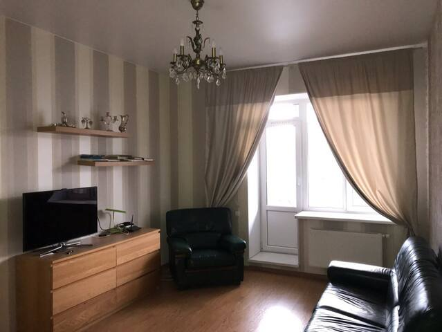 Уютная квартира с балконом в центре Питера