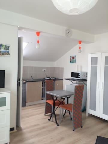 Joli studio pour visiter l'Ardèche - Le Teil - Apartamento