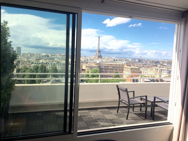Sky penthouse near Eiffel tower - Paris - Apartamento