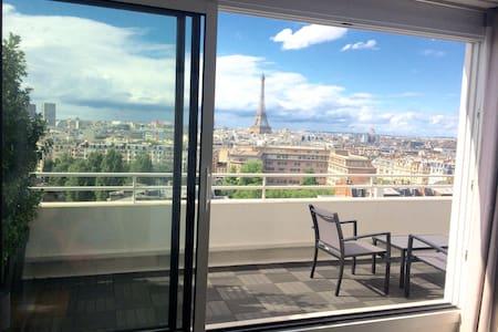 Sky penthouse near Eiffel tower - Paris - Lejlighed