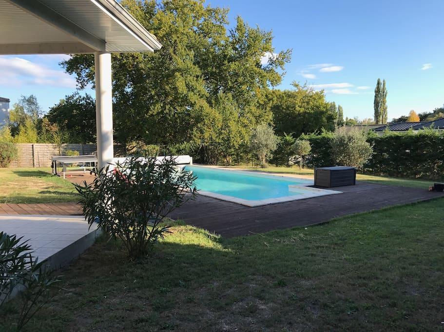 Villa de vacances en gironde ferienunterk nfte zur miete for Piscine blanquefort