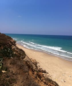 great beach front location - Beit Yanai - Casa