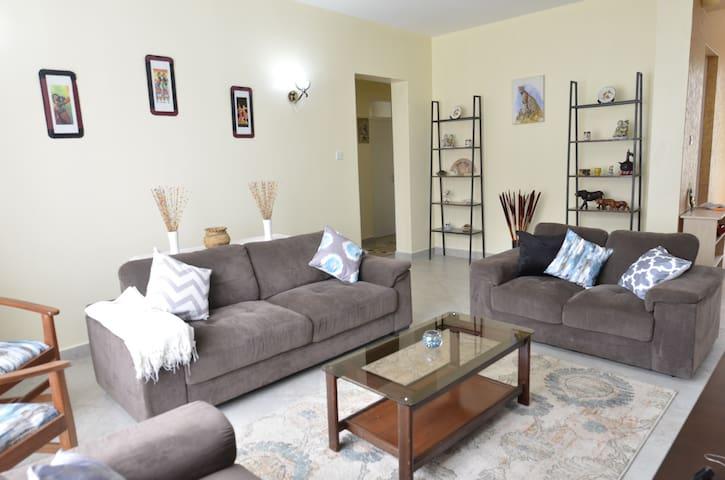 Ongata Rongai: Sunny and Spacious Apartment