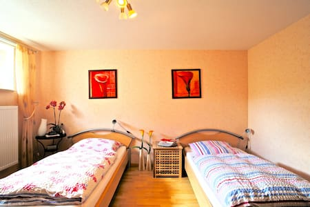 ID 4627 | Twin room with bathroom wifi - Sarstedt
