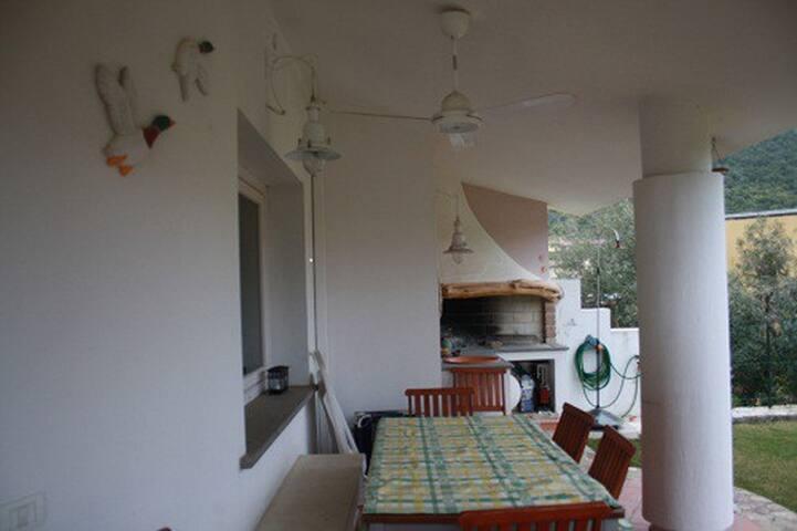 veranda e barbecue