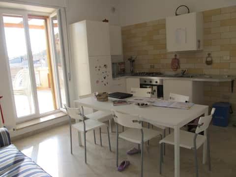 Brightful Apartment with Terrace in Basilicata