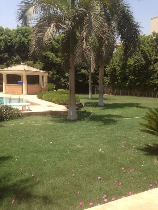 Chalet With Pool And Garden Chalets For Rent In Cairo