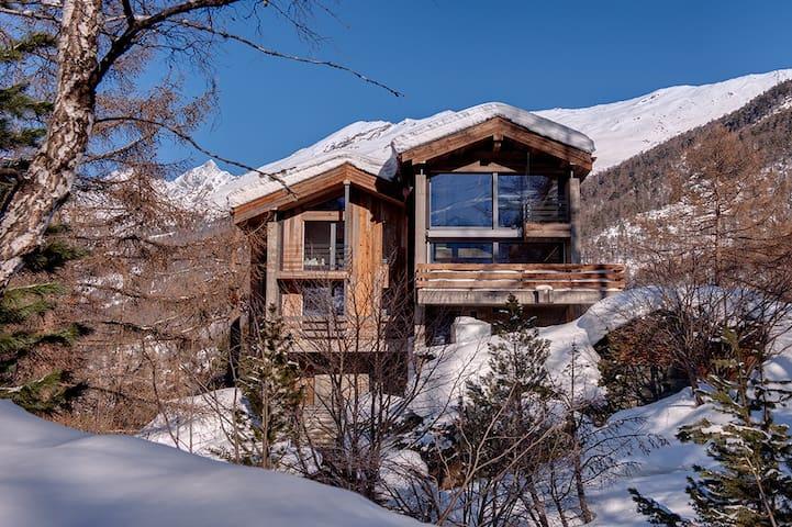 Chalet Sunnubiela - modern, luxurious, own sauna.
