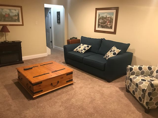 Inlaw suite minutes from Historical Roswell