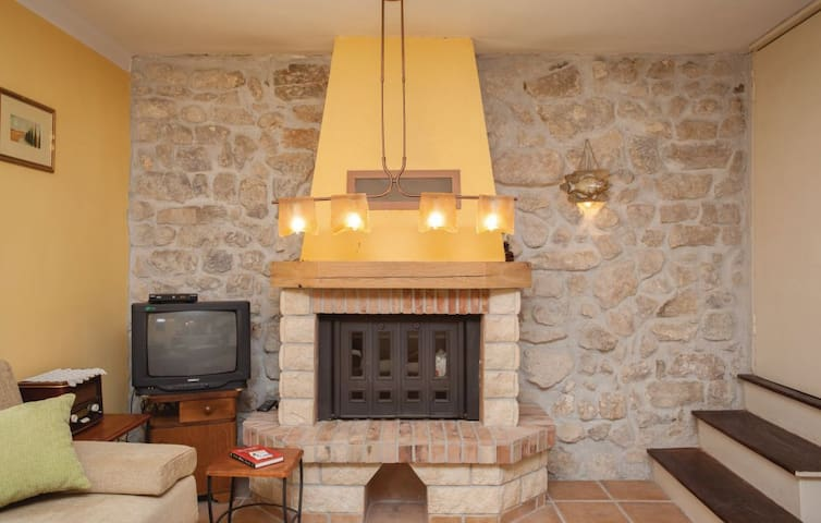 fire place for nice cosy moments during rain times