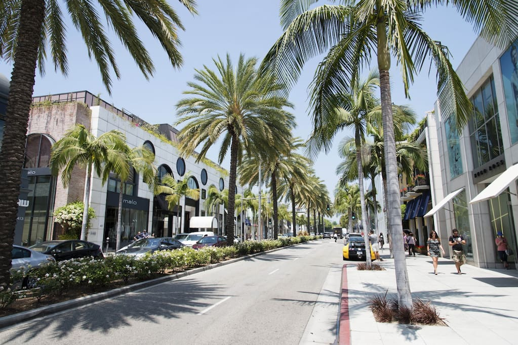 Minutes away from world famous Rodeo Drive!!!