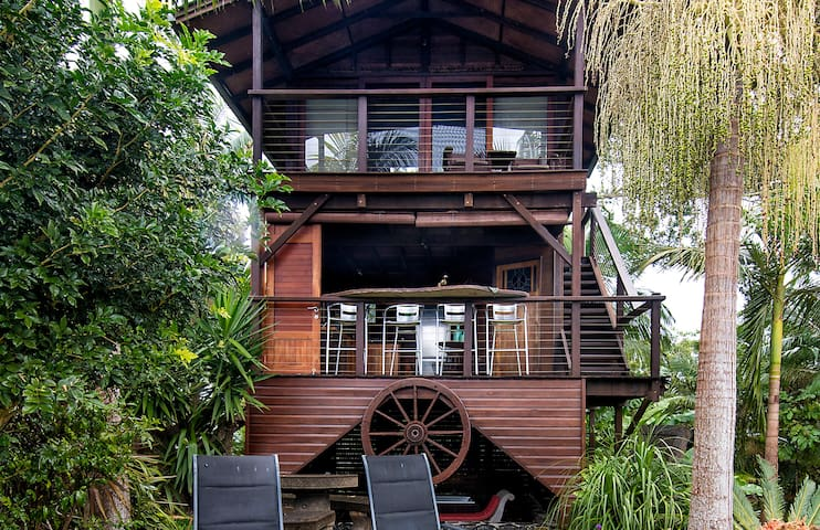 Bodhi Treehouse  - sanitised with organic products