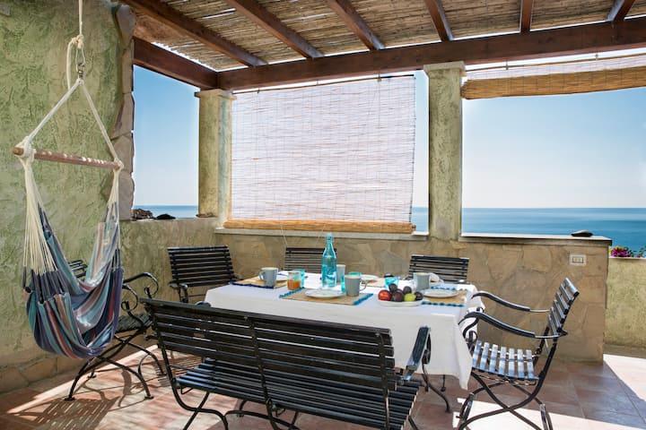 Stunning view villa South Sardinia