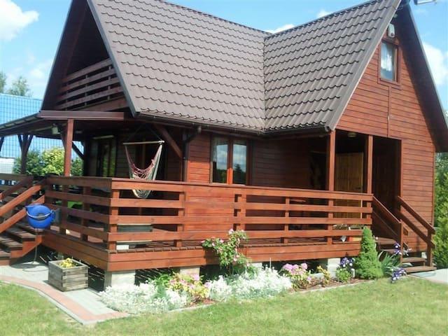 Cottage on Lake Głuszyńskie Poland - Lubsin - House