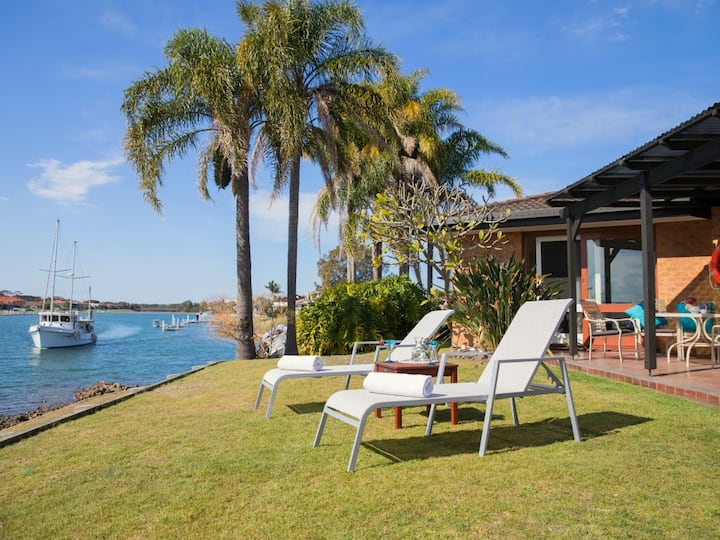 North View - waterfront home with private jetty