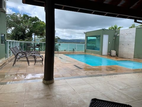 Flat Rancho Vida Boa Marina de Jaguara, Rifaina SP