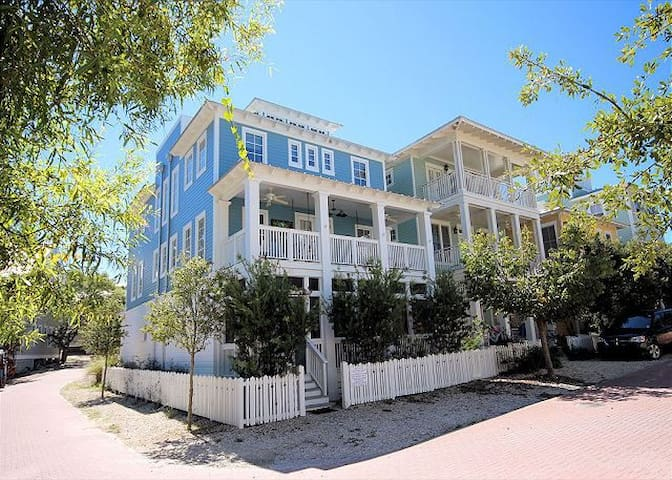 Group Therapy Cottage in Seaside, Florida - Santa Rosa Beach - Casa