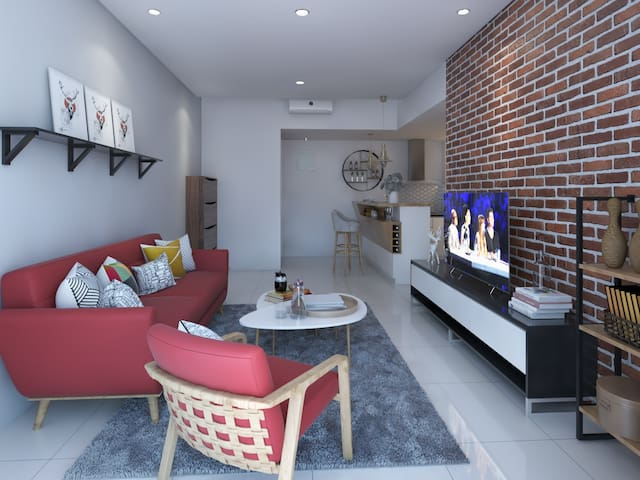 2BR&2Bath Apartment @Pondok Indah, Jakarta Selatan