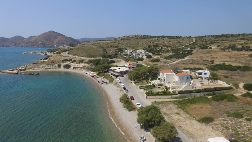 Beach maisonette, Chios-Komi
