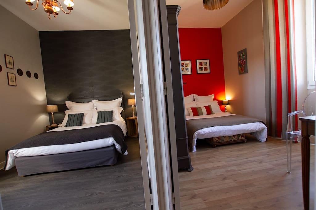 Chambre suite au porte de sarlat chambres d 39 h tes for Sarlat chambre d hote de charme