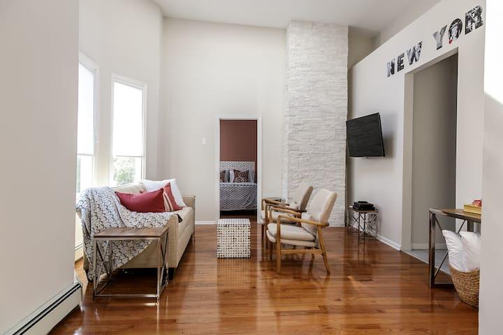 Tranquil loft 30min 2 MidtownNYC - Edgewater - Διαμέρισμα