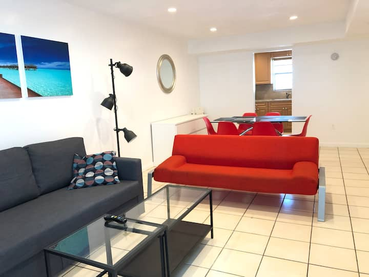 Amazing South Beach 3BR / 2 bath with parking