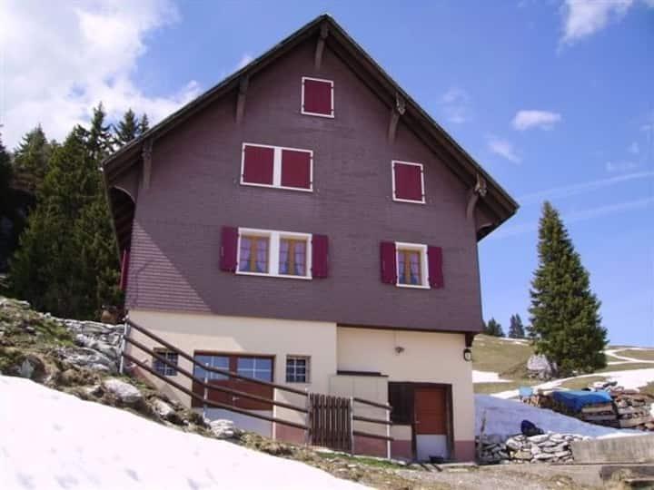 Wanderferien auf der Alp Rotenfluh