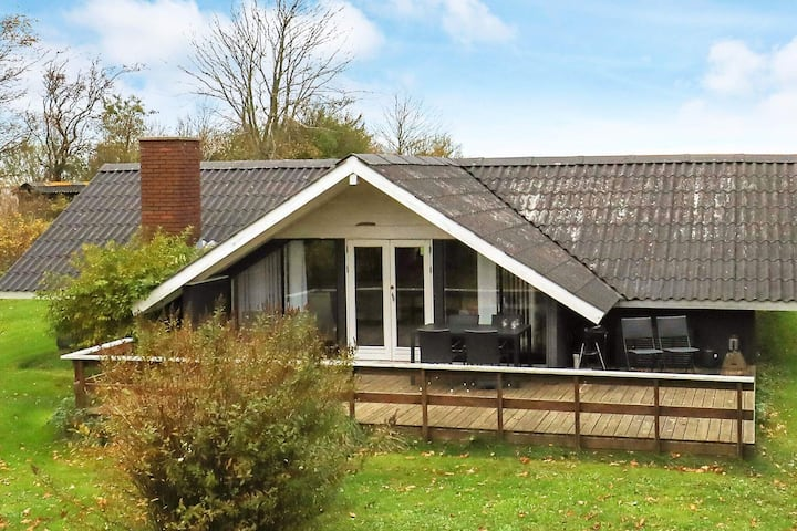 Cozy Holiday Home in Roslev Denmark with Terrace