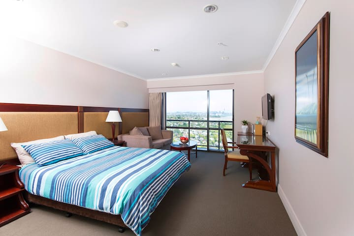 Beautiful Studio on 17th Floor, Takapuna