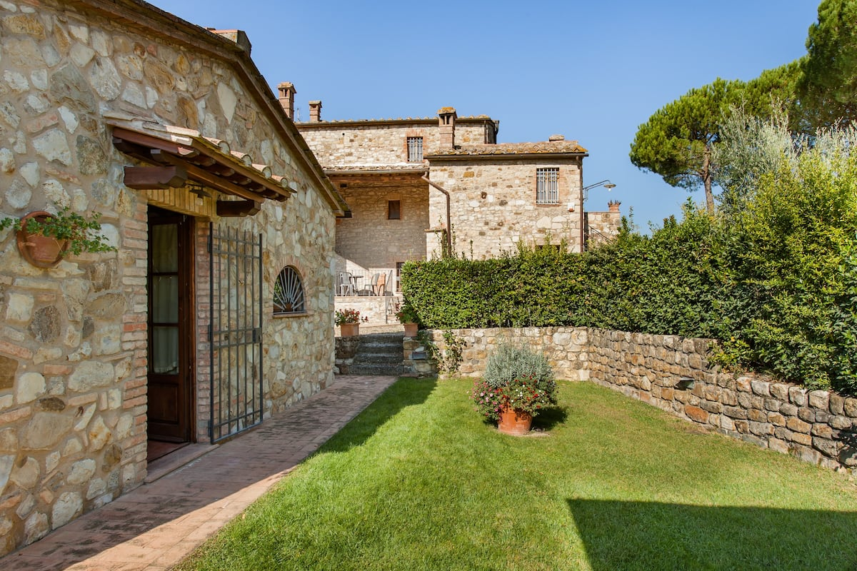 Explore Chianti Country from a Charming Stone House