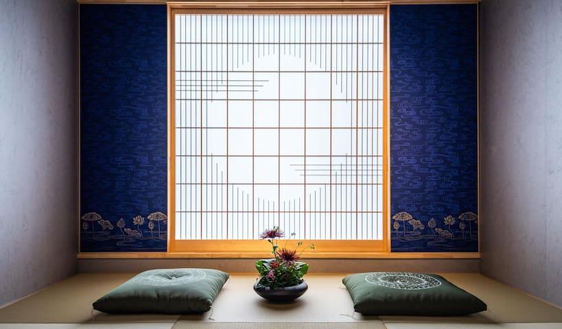 2F Tranditional Japanese bedroom. 二楼 传统的日式榻榻米房间。