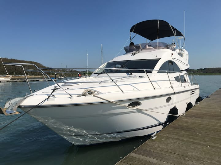 Fairline Phantom 40 yacht in La Rochelle.