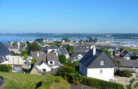Appartement vue mer et port à Perros Guirec